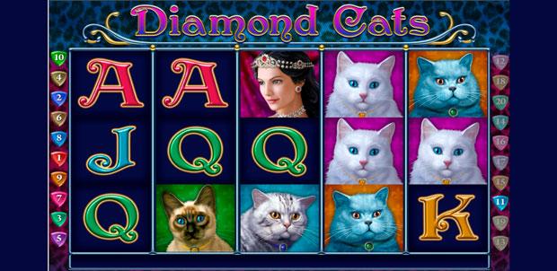 игровой слот Diamond Cats